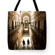Light At The End Of The Journey Tote Bag
