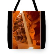 Light Beam With Border Tote Bag