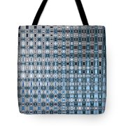 Light Blue And Gray Abstract Tote Bag