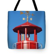 Light House On Coney Island Tote Bag
