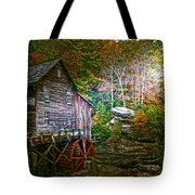 Light On The Mill Tote Bag