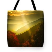 Light On The Moutain Tote Bag