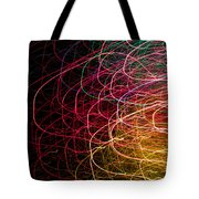 Light Painting 6 Tote Bag