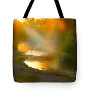 Light Up The Creek Tote Bag