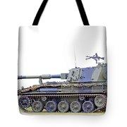 Light Weight Battle Tank Tote Bag