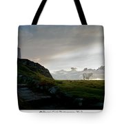 Lighthouse And Horse Tote Bag