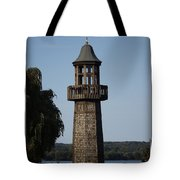 Lighthouse At Lake Chautauqua Tote Bag