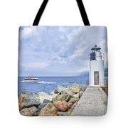 Lighthouse Camogli Tote Bag
