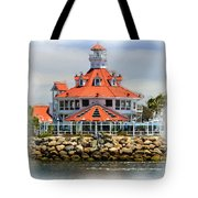 Lighthouse Charm Tote Bag