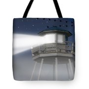 Lighthouse Dreaming Tote Bag