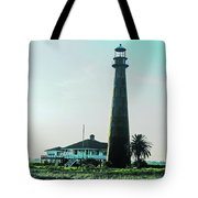 Lighthouse Galveston Tote Bag
