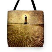 Lighthouse Grunge Tote Bag