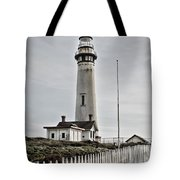 Lighthouse Tote Bag by Heather Applegate