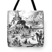 Lighthouse Of Alexandria Tote Bag