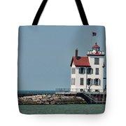 Lighthouse Ohio Tote Bag