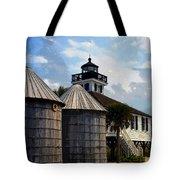 Lighthouse On Gasparilla Tote Bag