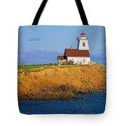 Lighthouse On Prince Edward Island Tote Bag