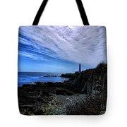 Lighthouse Sky Tote Bag