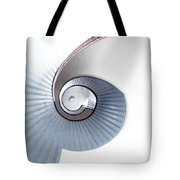 Lighthouse Spiral Staircase Tote Bag
