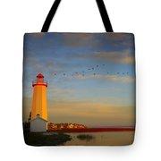 Lighthouse, Sylvan Lake, Alberta, Canada Tote Bag