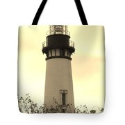 Lighthouse Tranquility Tote Bag
