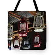 Lighting Americas Way Tote Bag