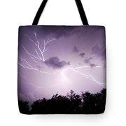 Lightning Burst Tote Bag