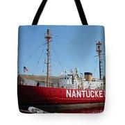 Lightship Nantucket Tote Bag