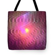 Lightwaves Tote Bag