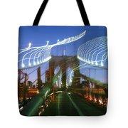 Lightwriting Brooklyn Bridge Tote Bag