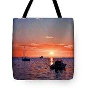 Like A Painted Sky Tote Bag