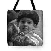Like Father Like Son Tote Bag