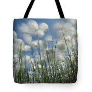 Like Spots Of White Clouds, The Aging Tote Bag