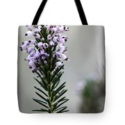 Lil Flower In Lilac Tote Bag