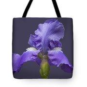 Lilac Iris Tote Bag