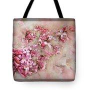 Lilacs And Wegia Tote Bag