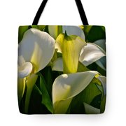 Lilies Of The Nile Tote Bag