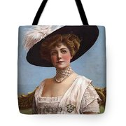Lillian Russell On Cover Tote Bag