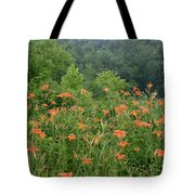 Lillies 2 Tote Bag