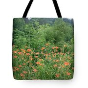 Lillies In The Valley Tote Bag