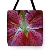 Lilly Heart Tote Bag