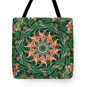Lilly In Abstract Tote Bag