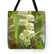 Lily Of The Valley - In White #2 Tote Bag