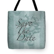 Lily Of The Valley Save The Date Greeting Card Tote Bag
