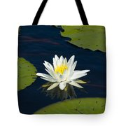Lily Pad And Flower Tote Bag
