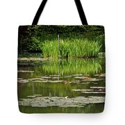 Lily Pads At Giverney Tote Bag