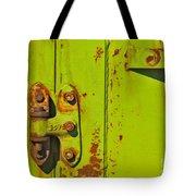 Lime Hinge Tote Bag