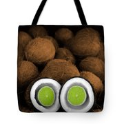 Lime In The Coconut Tote Bag