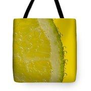 Lime Slice Soda 2 Tote Bag
