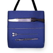 Lincoln Autopsy Instruments, 1856 Tote Bag